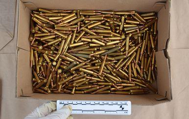 Policija zaplijenila arsenal streljiva u Zadru (Foto: MUP)