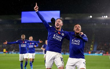 Slavlje Leicestera (Foto: Nigel French/Press Association/PIXSELL)