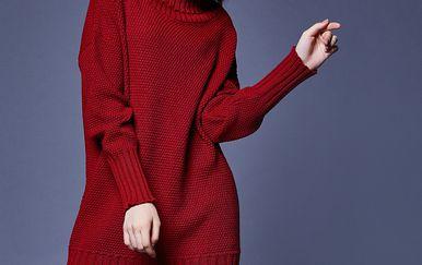 Haljine od toplog pletiva su modne kraljice zime