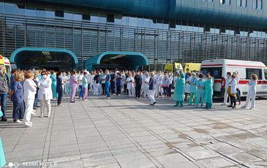 Novi prosvjed ispred KB-a Dubrava