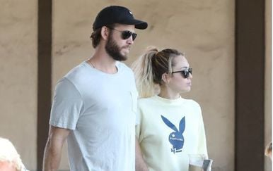Miley Cyrus i Liam Hemsworth - 2