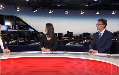 Ivana Petrović u studiju Dnevnika Nove TV - 1