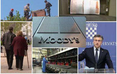 Moody\'s digao kreditni rejting Hrvatske, ilustracija