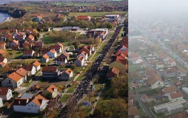 Vukovar: Kolona 2019. i 2020. godine - 1