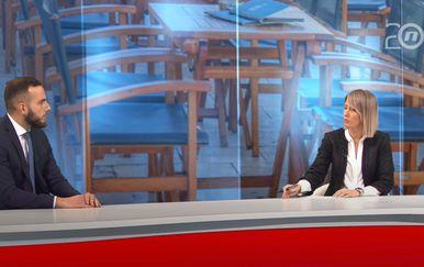 Josip Aladrović u Dnevniku Nove TV - 3