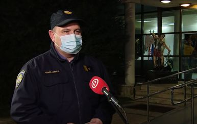 Danijel Leskovar, voditelj Operativno-komunikacijskog centra Policijske uprave varaždinske