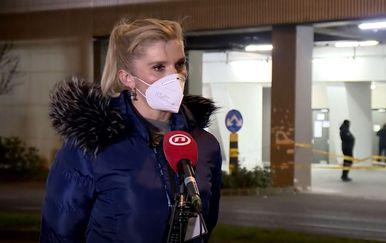 Snježana Krpeta, glavna medicinska sestra u Areni Zagreb