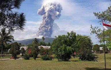 Soputana vulkan (Foto: AFP)