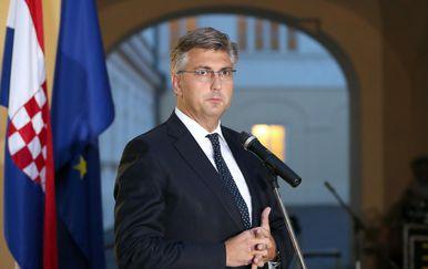 Andrej Plenković (Foto: Goran Stanzl/PIXSELL)