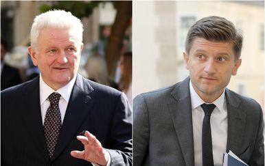 Ivica Todorić i Zdravko Marić (Foto: Pixsell)