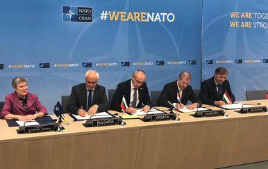 U Zadru se otvara prvo međunarodno središta NATO-a u Hrvatskoj (Foto: MORH)