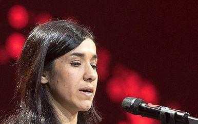 Nadia Murad (Foto: The Nobel Prize/Twitter)