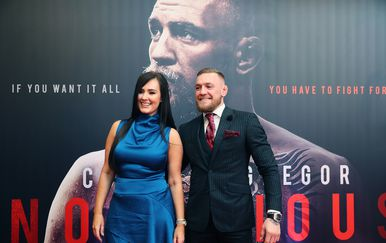 Dee Devlin i Conor McGregor (Brian Lawless/Press Association/PIXSELL)