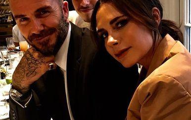 Victoria i David Beckham (Foto: Instagram)