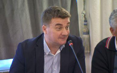 Nikola Kajkić iz Nacionalnog sindikata policije (Foto:Dnevnik.hr)