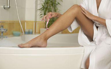 Brijanje je mnogim ženama najdraži način brzinske depilacije