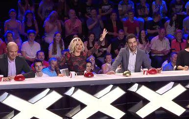 Supertalent 2018 žiri tijekom Zorica Sekulić