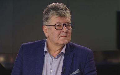 Ante Čorušić, ravnatelj KBC-a Zagreb, u Dnevniku Nove TV (Foto: Dnevnik.hr) - 2