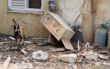 Raketirana kuća (Foto/Arhiva: AFP)