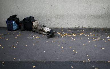 Beskućnik (Foto: Arhiva/AFP)