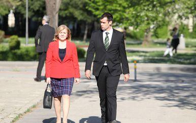 Ministrica financija u BIH Jelka MIličević (Foto: Boris Scitar/Vecernji list/PIXSELL)