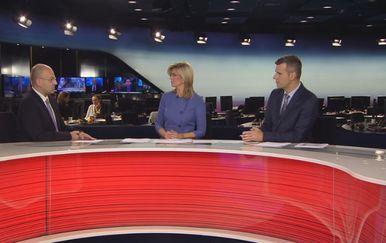 Mislav Bago u Dnevniku Nove TV (Foto: Dnevnik.hr)