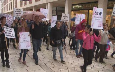 Prosvjed protiv obveznog cijepljenja (Foto: Dnevnik.hr) - 3