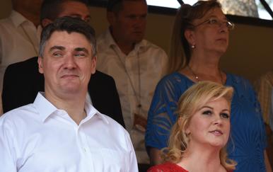 Zoran Milanović, Kolinda Grabar-Kitarović (Foto: Dusko Marusic/PIXSELL)