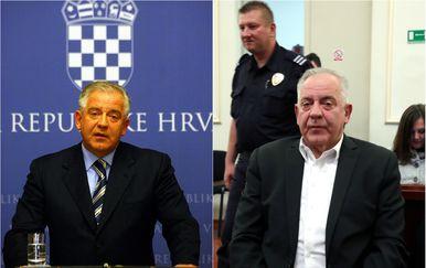 Ivo Sanader 2008. godine, tijekom premijerskog mandata, i na suđenju u aferi Hypo 2018. godine (Foto: Zeljko Hladika/Sanjin Strukic/PIXSELL)