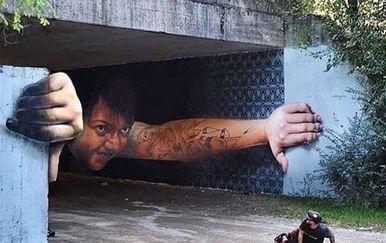 Ulična umjetnost (Foto: Instagram/streetartnews)