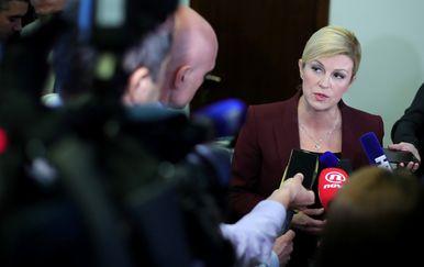 Kolinda Grabar-Kitarović (Foto: Sanjin Strukic/PIXSELL )