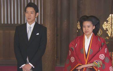Japanska princeza Ayako udala se za pučana (Foto: APTN)