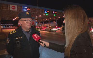 Darko Bratić, načelnik PU Karlovačke, i Barbara Štrbac (Foto: Dnevnik.hr)