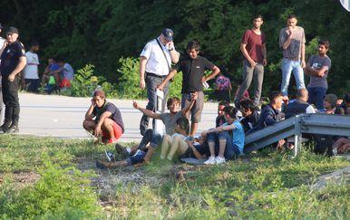 Migranti (Foto: Matija Habljak/PIXSELL)