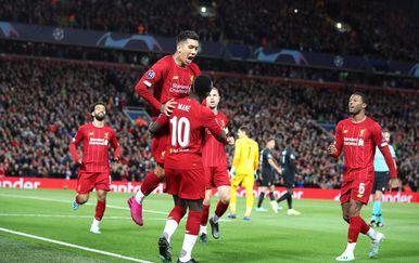 Slavlje igrača Liverpoola (Foto: Nick Potts/Press Association/PIXSELL)