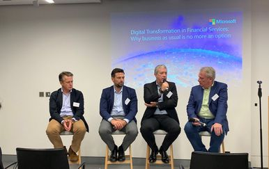 Digital Difference in Banking, panel