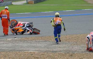 Pad Marca Marqueza (Screenshot Moto GP)