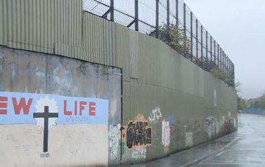 Zid s ogradom (Foto: Dnevnik.hr)
