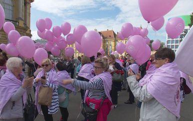 Ružičasti baloni (Foto: Dnevnik.hr)