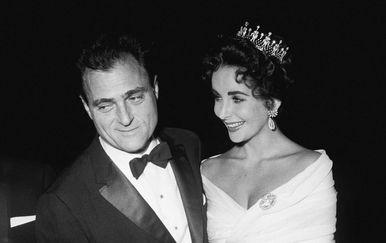 Mike Todd i Elizabeth Taylor