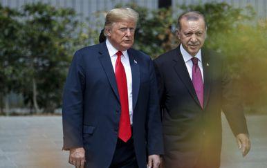 Donald Trump i Tayyip Erdogan (Foto: AFP)