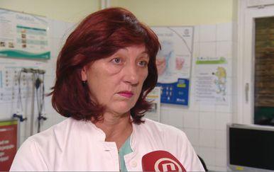 Renata Čulinović-Čaić,predsjednica Hrvatskog liječničkog sindikata (Foto: Dnevnik.hr)