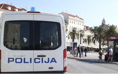 Osiguranje u Splitu uoči Hrvatska - Mađarska (Foto: Ivo Cagalj/PIXSELL)