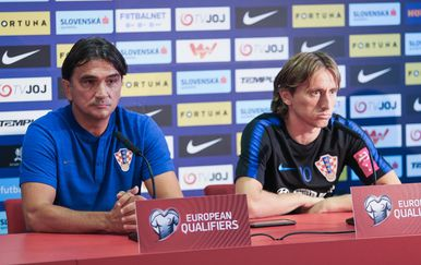 Zlatko Dalić i Luka Modrić (Foto: Davor Javorovic/PIXSELL)
