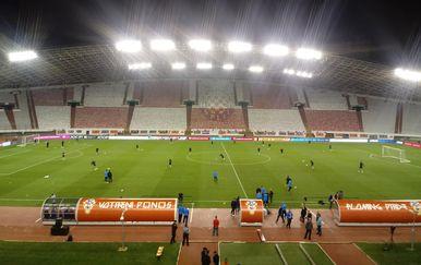 Poljud uoči utakmice Hrvatska - Mađarska (GOL.hr)