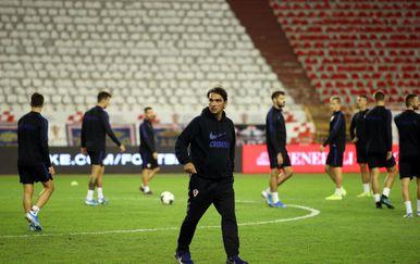 Zadnji trening Hrvatske uoči utakmice s Mađarskom (Foto: Ivo Cagalj/PIXSELL)