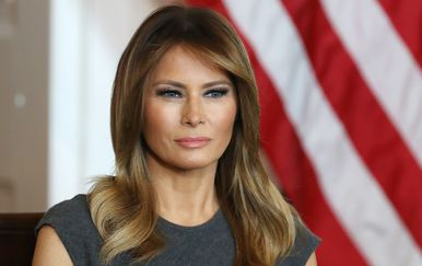 Melania Trump u tako običnoj haljini