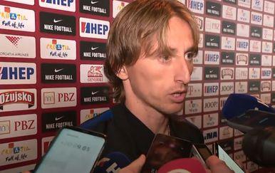 Luka Modrić nakon pobjede protiv Mađarske