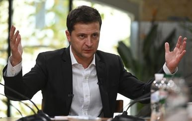 Volodimir Zelenaskij (Foto: AFP)