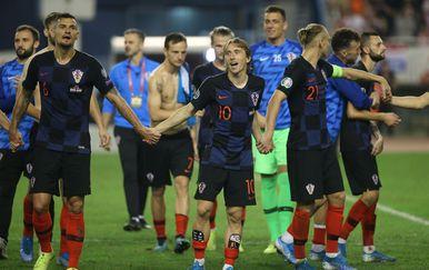 Hrvatska nogometna reprezentacija (Foto: Milan Sabic/PIXSELL)